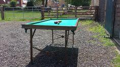 Burrowes portable billiard and pool table