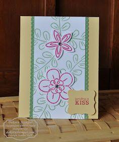Flower Fest  Petite Pairs  Handmade Card