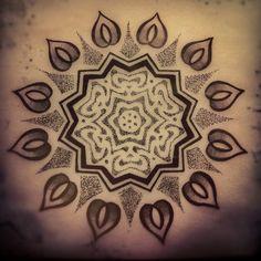 Sun Mandala  Michael E. Bennett  2Spirit Tattoo  San Francisco, CA