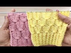 Loom Knitting, Knitting Stitches, Hand Knitting, Knitting Patterns, Knitted Slippers, Embroidery Kits, Fingerless Gloves, Arm Warmers, Lana