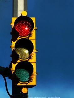 Recently, smart traffic lights, like LED arrow light http://www ...
