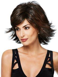 chic medium thick hair styles