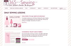 365 sewing lessons!