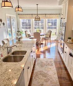 42 Inspiring Farmhouse Kitchen Cabinets Makeover Design Ideas #homeideas #outdoorhomedesign #kitchenfarmhouse > Fieltro.Net - Fieltro.Net