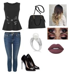 """""""Selena"""" by darkfire9 on Polyvore featuring WearAll, Avenue, Dex and Lime Crime"""