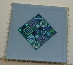 """Needlepoint: """"Hot Stuff"""" 