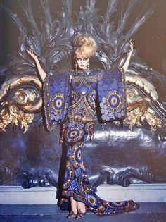 John Galliano for Christian Dior Tribute to Marchesa Luisa Casati 1998