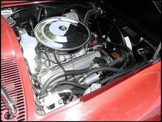 1965 Chevrolet Corvette Coupe 327/350 HP, A/C, 4-Speed