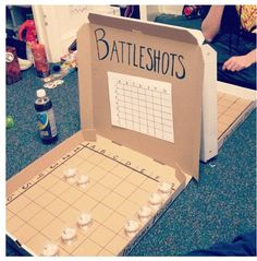 Battle shots drinking game