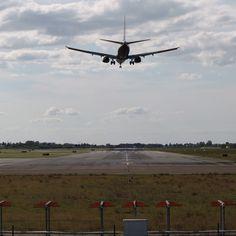 landing RNW 30 Bologna airport
