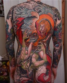 The One & Only, International London Tattoo Convention is the greatest, most respected & prestigious body art convention in the world, at Tobacco Dock SEPT Full Back Tattoos, Full Body Tattoo, Real Tattoo, Body Tattoos, Tatoos, Art Tattoos, Animal Tattoos, Sailor Jerry, New School Tattoo Design