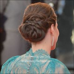 kate middleton updo hairstyles | Kate Middleton braided updo - London Olympic Gala