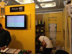 Buchmesse Teheran 2014: Stand von Wiley
