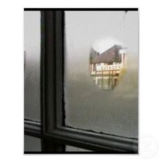 Fog Window Perspective Oxford The MUSEUM Zazzle print