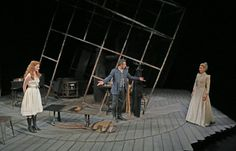 'The Master Builder,' at the Harvey Theater at BAM - The Master Builder (Norwegian: Bygmester Solness) is a play by Norwegian playwright Henrik Ibsen. It was first published in December 1892 and is regarded as one of Ibsen's most significant and revealing works. ***+