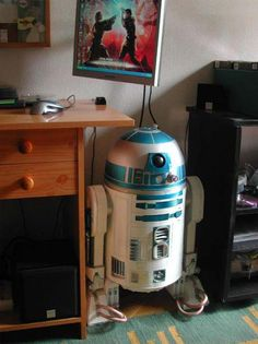 r2d2 computer case... I know what I'm gonna do if I ever build a computer