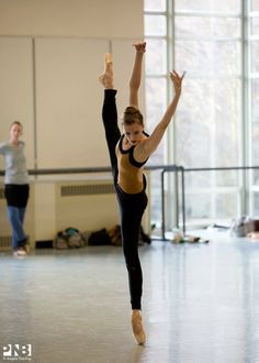 Chelsea Adomaitis of Pacific Northwest Ballet Photo by Angela Sterling