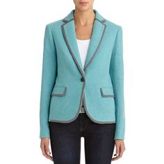 One button blazer #mint