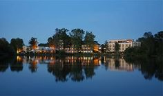 See Park Janssen Janssen, Das Hotel, Park, Travel Destinations, Maine, Partner, Pictures, Night Photography, Nature
