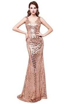 Aiyana Gold Mermaid V-Neck Backless Long Bridesmaid Dress... https://www.amazon.com/dp/B01MQ3M7NJ/ref=cm_sw_r_pi_dp_x_btAtybYJAS8HC