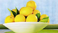 A bowl of lemons = clean stuff