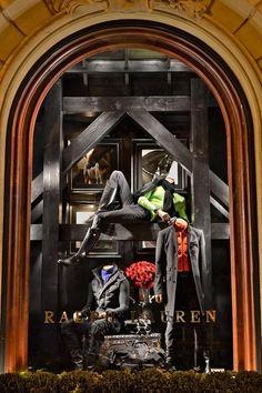 ralph lauren store windows | Ralph Lauren Stores / Explore the vibrant holiday windows