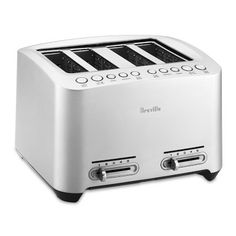 Shop Williams-Sonoma for commercial-grade toaster ovens, toasters, and pizza makers. Find a variety of toaster ovens with easy-to-use controls and sleek, stylish designs. Best 4 Slice Toaster, Stainless Steel Toaster, Blue Led Lights, Williams Sonoma, Diecast, Toasters, Small Appliances, Kitchen Appliances, Cookers