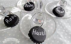 Pretty Event Design co.: DIY Wine Charms