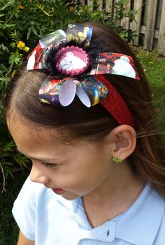 Hey, I found this really awesome Etsy listing at https://www.etsy.com/listing/229221477/big-hero-6-glitter-headband-or-bow-ready