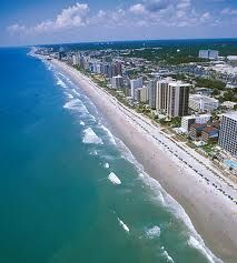 Myrtle beach, SC one of my favorite vacationing spots!!!