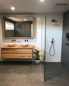 Thanks for sharing your recently completed ensuite @opski49! Your Matte Black Pegasi M tapware, showers and accessories look amazing with…