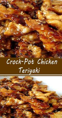 Slow Cooker Huhn, Crock Pot Slow Cooker, Crock Pot Cooking, Slow Cooker Recipes, Crockpot Recipes, Meat Recipes, Cooking Recipes, Freezer Recipes, Freezer Cooking
