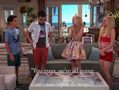 """""""You guys, we're all going our own separate ways"""" Disney Channel Movies, Disney Channel Shows, Disney Shows, Dove Cameron, Holden Liv And Maddie, Liv And Maddie Characters, The Miracle Season, Icarly And Victorious, Cali Style"""