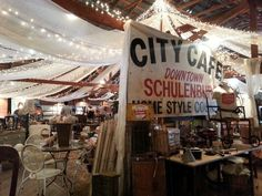 Round Top Antiques Fair Zapp Hall