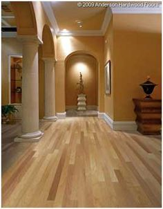 Natural Hickory Hardwood Flooring