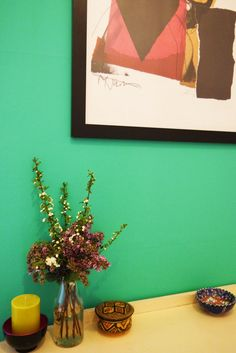 Gillian and Christopher's Colorful Glasgow Apartment