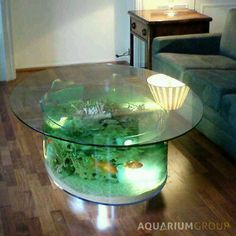 Superior Find This Pin And More On Coordinate And Decorate. Coffee Table Fish Tank  ...