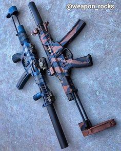 No photo description available. Airsoft Guns, Weapons Guns, Guns And Ammo, Rifles, Battle Rifle, Submachine Gun, Custom Guns, Fire Powers, Cool Guns