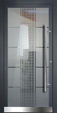 Aluminium Haustür Ganzglasfüllung Alu Haustüren nach Maß Mod. HT 5471 . 9 GLA!