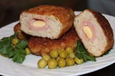 Рецепты Вкусных Домашних Блюд: Куриные котлеты с ветчиной и сыром