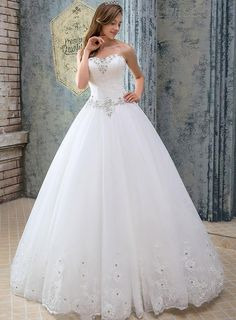 ericdress.com offers high quality  Classy Sweetheart Lace Ball Gown Wedding Dress  Wedding Dresses 2015 unit price of $ 151.99.