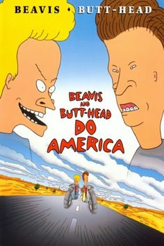 I can't believe that yesterday was the 20th anniversary of #BeavisandButtHeadDoAmerica, somewhere, those two are laughing at the title!