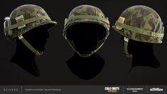 I had the pleasure of creating Usa helmets variations while working at for Call of Duty: WWII DLC.