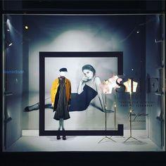 """DE BIJENKORF, Amsterdam, The Netherlands, """"A She Story"""", (Vrouw zijn betekent voor mij verbinden), pinned by Ton van der Veer"""