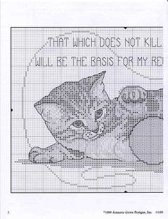 patrones punto de cruz solo felinos (pág. 7) | Aprender manualidades es facilisimo.com