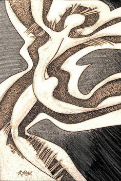 Wall Art - Digital Art - Twilight Dance Graphic - by Rheta-Mari Kotze , The World's Greatest, Great Artists, Animal Print Rug, Twilight, Fine Art Prints, Digital Art, Tapestry, Wall Art, Poster