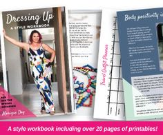 Style Workbook — Dressing Up - Inbetweenie and plus size style inspiration Bodycon Dress With Sleeves, Belted Shirt Dress, Tee Dress, Dress Up, Tribal Print Dress, Elegant Dresses, Plus Size Fashion, Dream Wardrobes, Printables