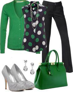 I love the green