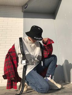 Hipster Outfits, Edgy Outfits, Korean Outfits, Grunge Outfits, Cute Outfits, Ulzzang Fashion, Asian Fashion, Boy Fashion, Mens Fashion