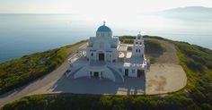 Η πανέμορφη εκκλησία του Προφήτη Ηλία στο Λαύριο σε ένα εντυπωσιακό εναέριο βίντεο. - Τι λες τώρα;